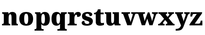 Noto Serif Condensed Black Font LOWERCASE
