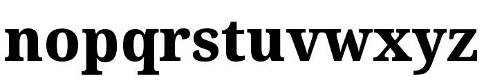 Noto Serif ExtraBold Font LOWERCASE