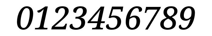 Noto Serif SemiCondensed Medium Italic Font OTHER CHARS