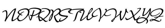 Nouvelle Vague Medium Font UPPERCASE