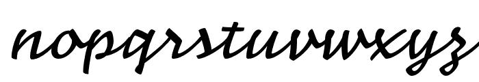 Nouvelle Vague Medium Font LOWERCASE