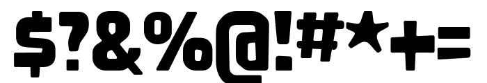Nove Regular Font OTHER CHARS