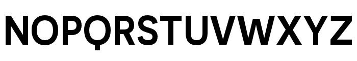 Novecento sans condensed DemiBold Font UPPERCASE