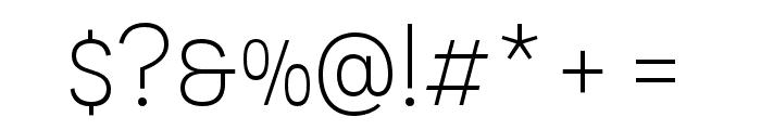 Novecento sans condensed Light Font OTHER CHARS
