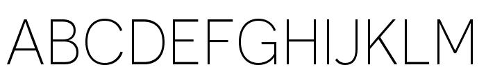 Novecento sans condensed Light Font UPPERCASE