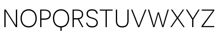 Novecento sans condensed Light Font LOWERCASE