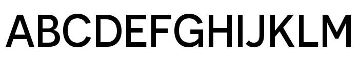Novecento sans condensed Medium Font UPPERCASE