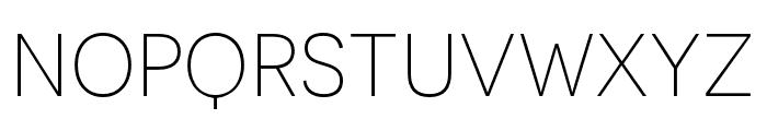 Novecento sans condensed UltraLight Font LOWERCASE