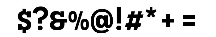 Novecento slab condensed DemiBold Font OTHER CHARS
