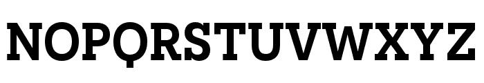 Novecento slab condensed DemiBold Font UPPERCASE