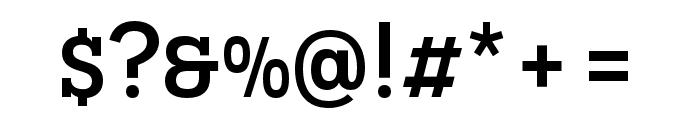 Novecento slab condensed Medium Font OTHER CHARS