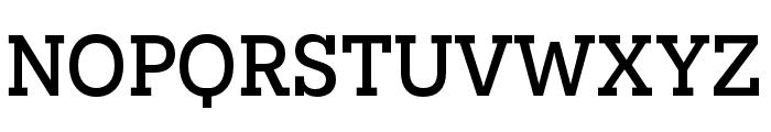 Novecento slab condensed Medium Font UPPERCASE