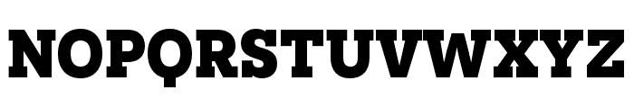 Novecento slab condensed UltraBold Font UPPERCASE