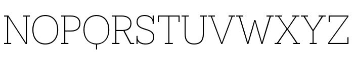 Novecento slab narrow Book Font UPPERCASE