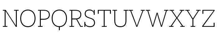 Novecento slab narrow Book Font LOWERCASE