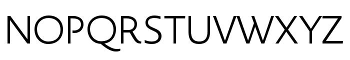 Novel Display Black Font UPPERCASE