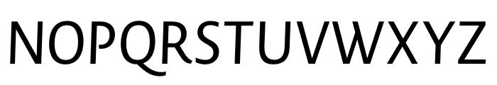 Novel Display XBlack It Font UPPERCASE