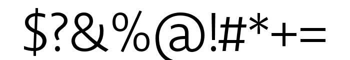 Novel Display XCnd Light Font OTHER CHARS