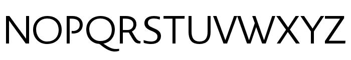Novel Display XCnd Regular Font UPPERCASE
