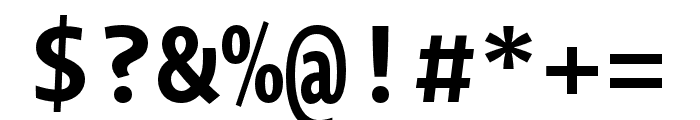 Novel Mono Pro Bold Font OTHER CHARS