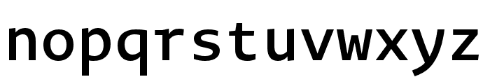 Novel Mono Pro Cnd SemiBd Font LOWERCASE