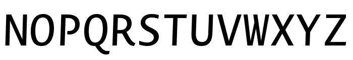Novel Mono Pro Medium It Font UPPERCASE