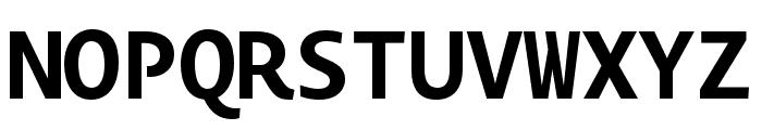 Novel Mono Pro XCnd Bold Font UPPERCASE