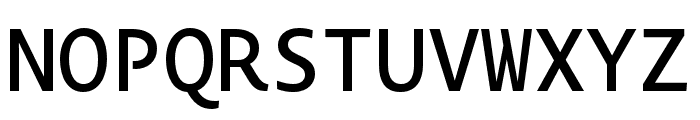 Novel Mono Pro XCnd Medium Font UPPERCASE