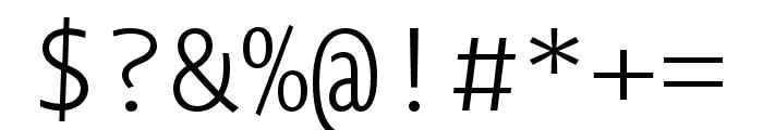 Novel Mono Pro XCnd XLight Font OTHER CHARS