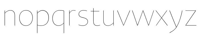 Novel Sans Hair Pro XCmp 10 Font LOWERCASE