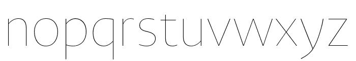 Novel Sans Hair Pro XCmp 14 Font LOWERCASE