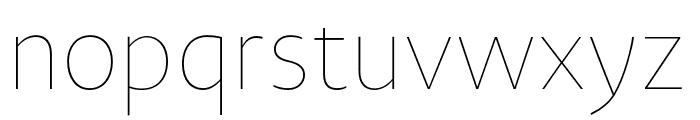 Novel Sans Hair Pro XCmp 18 Font LOWERCASE
