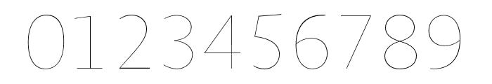 Novel Sans Hair Pro XCmp 36 Font OTHER CHARS