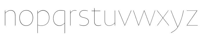 Novel Sans Hair Pro XCmp 36 Font LOWERCASE