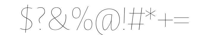 Novel Sans Hair Pro XCmp 54 It Font OTHER CHARS