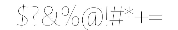 Novel Sans Hair Pro XCnd 48 It Font OTHER CHARS