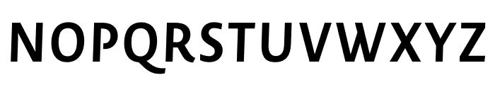 Novel Sans Pro Bold It Font UPPERCASE