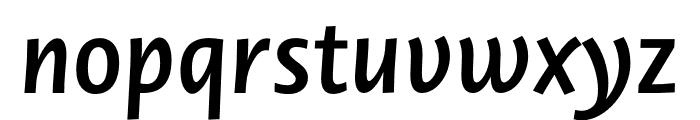 Novel Sans Pro SemiBd It Font LOWERCASE