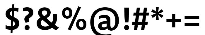 Novel Sans Pro XCmp Bold Font OTHER CHARS