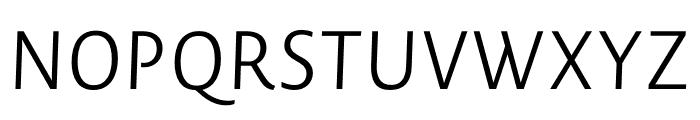Novel Sans Pro XCmp Light It Font UPPERCASE