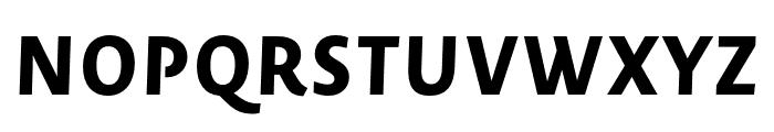 Novel Sans Pro XCmp XBold It Font UPPERCASE