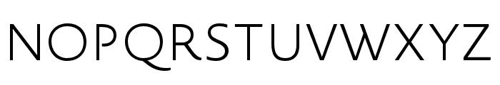 Novel Sans Pro XCmp XLight Font UPPERCASE