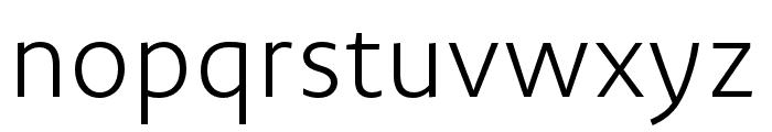 Novel Sans Pro XCmp XLight Font LOWERCASE