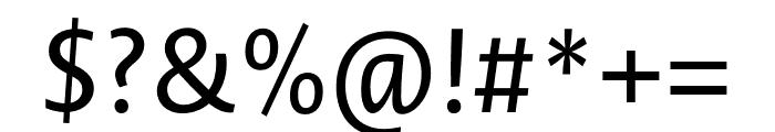 Novel Sans Pro XCnd Italic Font OTHER CHARS