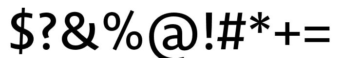 Novel Sans Pro XCnd Medium Font OTHER CHARS
