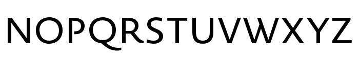 Novel Sans Pro XCnd Regular Font UPPERCASE