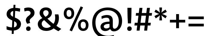 Novel Sans Pro XCnd SemiBd Font OTHER CHARS