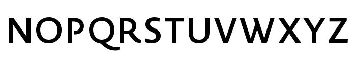 Novel Sans Pro XCnd SemiBd Font UPPERCASE
