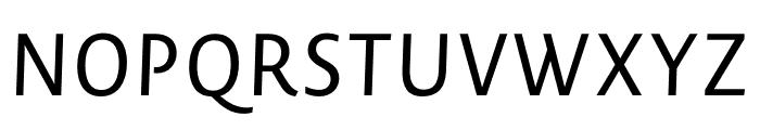 Novel SansCond Pro Regular Italic Font UPPERCASE