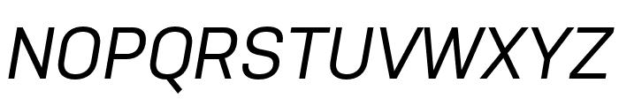 Nudista Medium Italic Font UPPERCASE